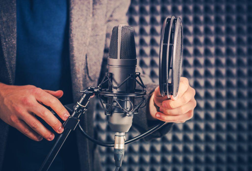 Voix off enregistrement film d'entreprise