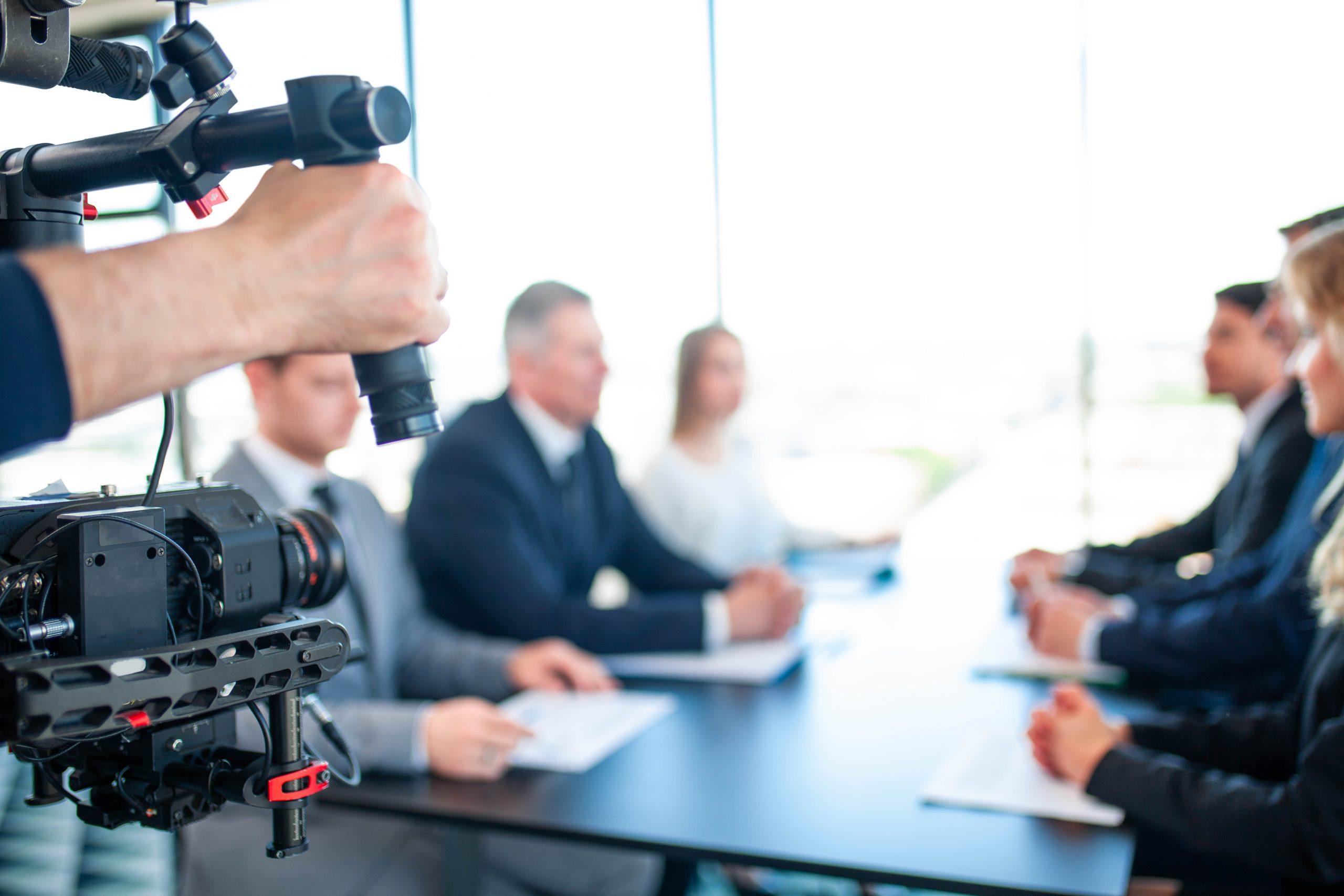 tournage vidéo d'entreprise film corporate